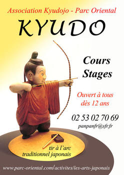 Affiche cours kyudo 2012