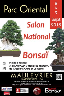 Flyer 2018 Salon National Bonsai