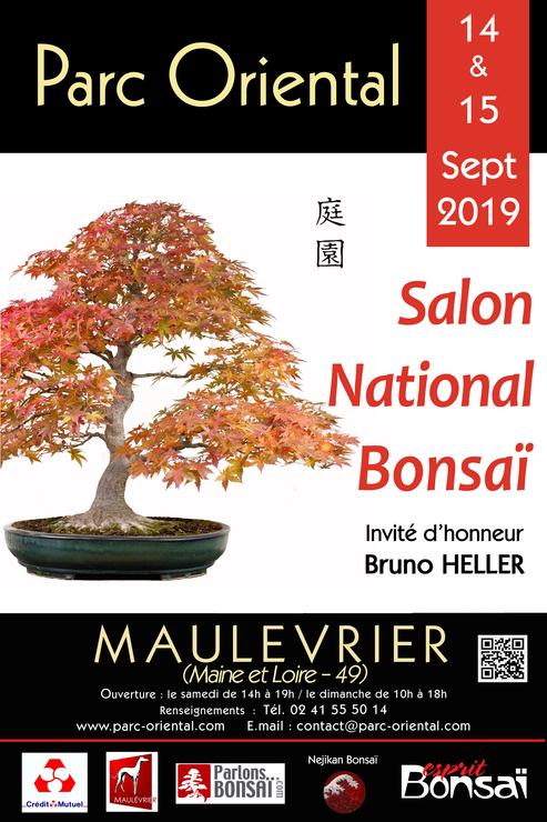 affiche salon national du bonsaï 2019